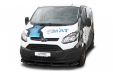 Ford Transit Custom / Tourneo Custom (2012+) Front Bumper Lip Spoiler Extension Splitter Diffuser