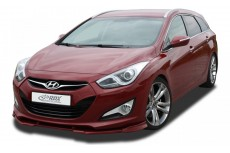 Hyundai i40 Front Bumper Lip Spoiler Extension Splitter Diffuser