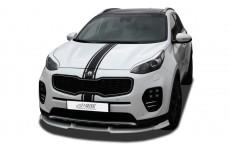 Kia Sportage (QL) Front Bumper Lip Spoiler Extension Splitter Diffuser