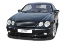 Mercedes CL Class C215 (-2002) Front Bumper Lip Spoiler Extension Splitter Diffuser