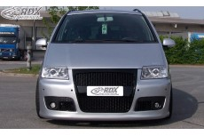 "Volkswagen Sharan (2000+) ""SF/GTI-Five"" Without Headlamp Wash System Custom Front Bumper"