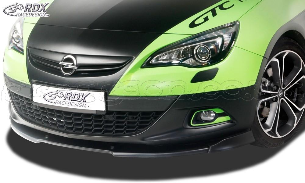 Opel Vauxhall Astra J GTC Front Bumper Lip Spoiler ...