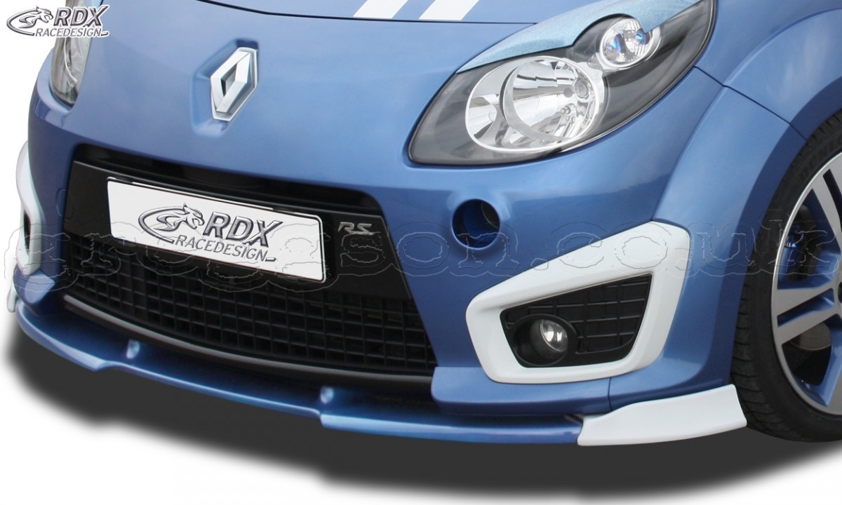 renault twingo 2 rs phase 1 front bumper lip spoiler extension splitter diffuser. Black Bedroom Furniture Sets. Home Design Ideas
