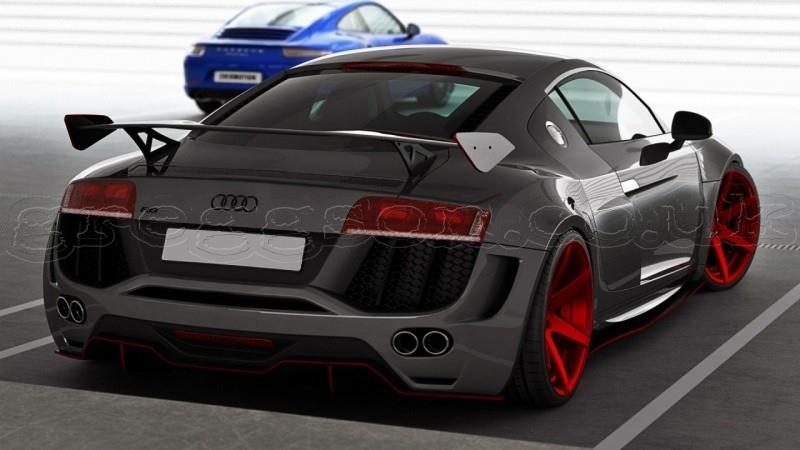 Smart Car Kits >> Audi R8 (2006 - 2015) Custom Rear Wing Spoiler