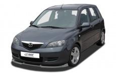 Mazda 2 DY (2003-2007) Front Bumper Lip Spoiler Extension Splitter Diffuser
