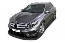 Mercedes GLA X156 AMG Line Front Bumper Lip Spoiler Extension Splitter Diffuser