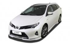 Toyota Auris E180 (-09/2015) Front Bumper Lip Spoiler Extension Splitter Diffuser