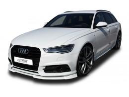 Audi A6 4G C7 S Line / S6 (2014+) Front Bumper Lip Spoiler Extension Splitter Diffuser