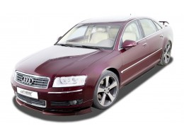 Audi A8 D3 / 4E (-2005) (All, incl. W12 and S8) Front Bumper Lip Spoiler Extension Splitter