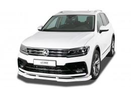 VW Tiguan (2016+) R-Line Front Bumper Lip Spoiler Extension Splitter Diffuser
