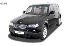 BMW X3 E83 (2003-2010) Front Bumper Lip Spoiler Extension Splitter Diffuser