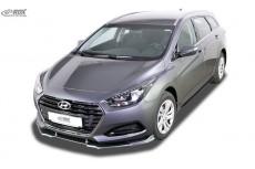 Hyundai i40 (2015+) Front Bumper Lip Spoiler Extension Splitter Diffuser