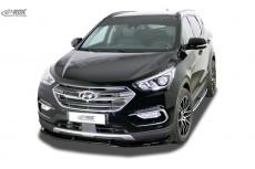 Hyundai Santa Fe (DM) (2015-2018) Front Bumper Lip Spoiler Extension Splitter Diffuser