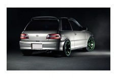Toyota Starlet Mk3 Rear Bumper