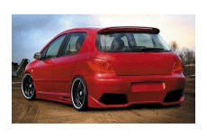 Peugeot 307 Custom Rear Bumper