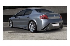 Peugeot 407 Custom Rear Bumper
