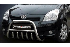 Toyota Corolla Verso Mk2 Bull Bar With Grille