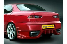 Alfa Romeo 156 Sedan 1997-2003 Custom Rear Bumper
