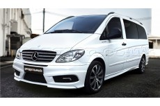 Mercedes Vito W639 Custom Front Bumper (Front Bumper with day-lights and grille)