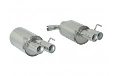 Alfa Romeo Spider 3.2JTS V6 - 3.2JTS V6 Q4 (06/2006-) Stainless Steel Dual Sport Performance Exhaust Silencer