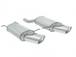 BMW X5 E53 3.0D 135 kW Facelift (2001-02/2007) Stainless Steel Dual Sport Performance Exhaust Silencer