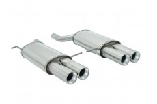 BMW X5 E53 3.0D 160kW (2004-02/2007) Stainless Steel Dual Sport Performance Exhaust Silencer
