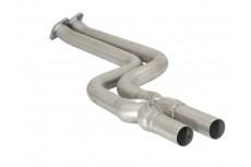 BMW Z4 E89 23i 150kW - 30i 190kW (05/2009-2012) Stainless steel centre pipe group N