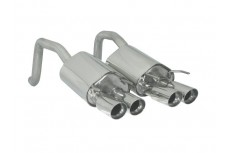 Chevrolet Corvette C6 6.0i V8 298kW (2004-) Stainless Steel Dual Sport Performance Exhaust Silencer