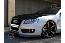 Audi A5 8T Front Bumper Lip Spoiler Extension Splitter