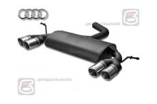 Audi A3 8P  Hatchback Sport Performance Exhaust Silencer Muffler