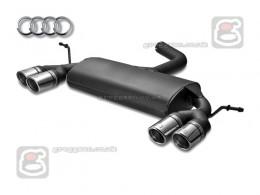 Audi A3 8P Sportback Sport Performance Exhaust Silencer Muffler