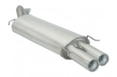 MG ZR 160 1.8 16V 120kW (2001-) Stainless Steel Sport Performance Exhaust Silencer