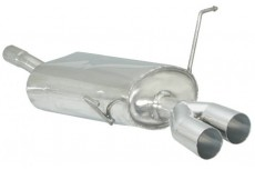 Mini R50 One 1.6 I 66kW + Facelift (09/2001 - 10/2006) Stainless Steel Sport Performance Exhaust Silencer