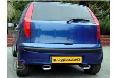 Fiat Punto Mk2 (1,9 JTD 59/63kW) 1999-2005 Sport Performance Exhaust Silencer Exhaust Muffler