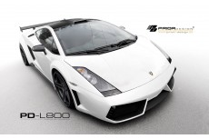 Lamborghini Gallardo Aerodynamic Body Kit