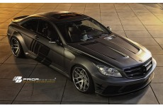 Mercedes CL W216 Facelift Black Edition V2 Aerodynamic Body Kit