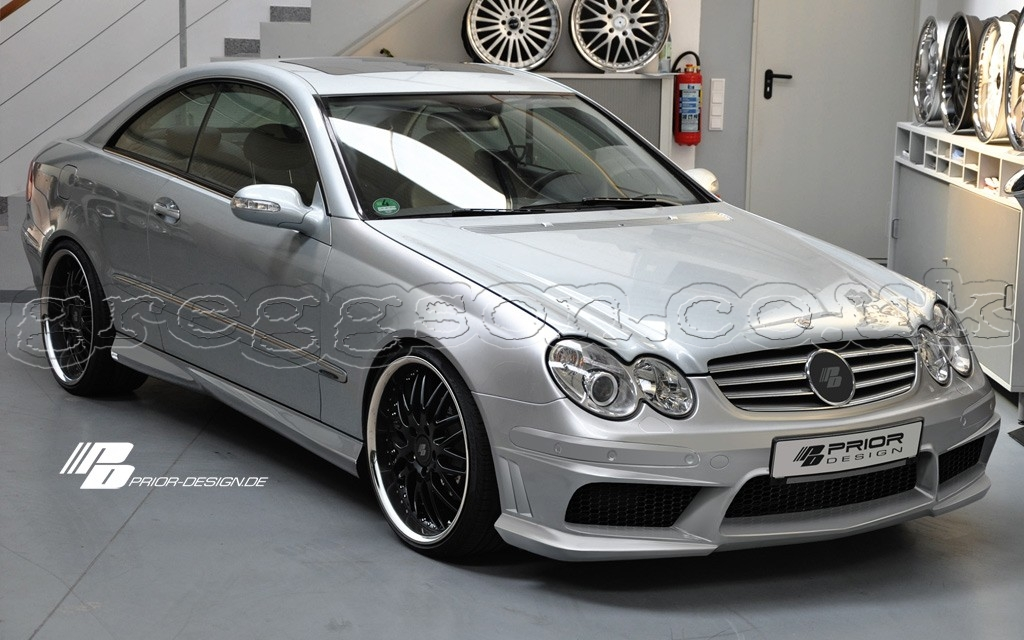 Mercedes Clk W209 Pd1 Aerodynamic Body Kit
