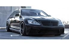 Mercedes S W221 Black Edition Aerodynamic Body Kit