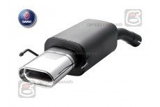 Saab 9-3 (2002-2008) Sport Performance Exhaust Silencer Muffler