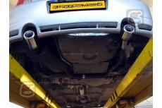 Volkswagen Golf Mk4 Hatchback 1997-2004 Sport Performance Exhaust Silencer Muffler
