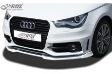 Audi A1 8X & 8XA (-01/2015) Sportback S Line Front Bumper Lip Spoiler Extension Splitter