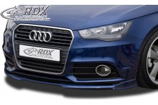 Audi A1 8X & 8XA (-01/2015) Sportback (not S Line) Front Bumper Lip Spoiler Extension Splitter