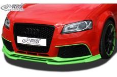 Audi RS3 2011 + (3D + Sportback) Front Bumper Lip Spoiler Extension Splitter