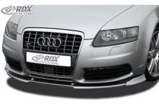 Audi S6 4F Front Bumper Lip Spoiler Extension Splitter