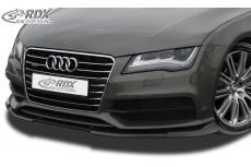 Audi A7 & S7 (S7 or S-Line Front Bumper) Front Bumper Lip Spoiler Extension Splitter