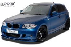 BMW E81 / E87 (M Paket / M Technik Bumper) Front Bumper Lip Spoiler Extension Splitter