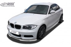 BMW E82 / E88 (M Paket & M Technik Bumper) Front Bumper Lip Spoiler Extension Splitter