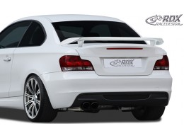 BMW E82 / E88 Coupe Cabrio Custom Rear Boot Wing Spoiler