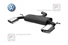 Volkswagen Touran 2003-2010 Sport Performance Exhaust Silencer Muffler