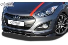 Hyundai i30 Coupe (2013+) Front Bumper Lip Spoiler Extension Splitter